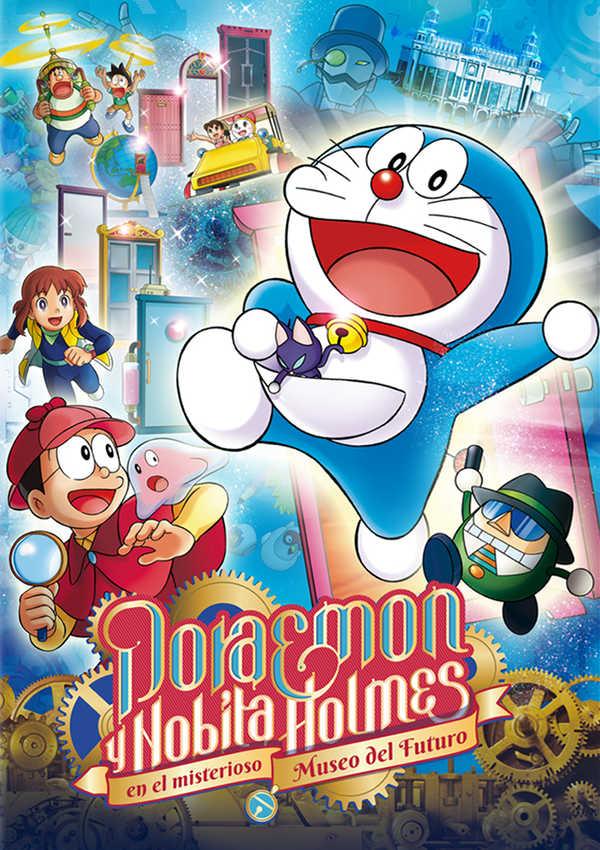 doraemon y nobita holmes en el misterioso museo del futuro -dvd--8420266006585