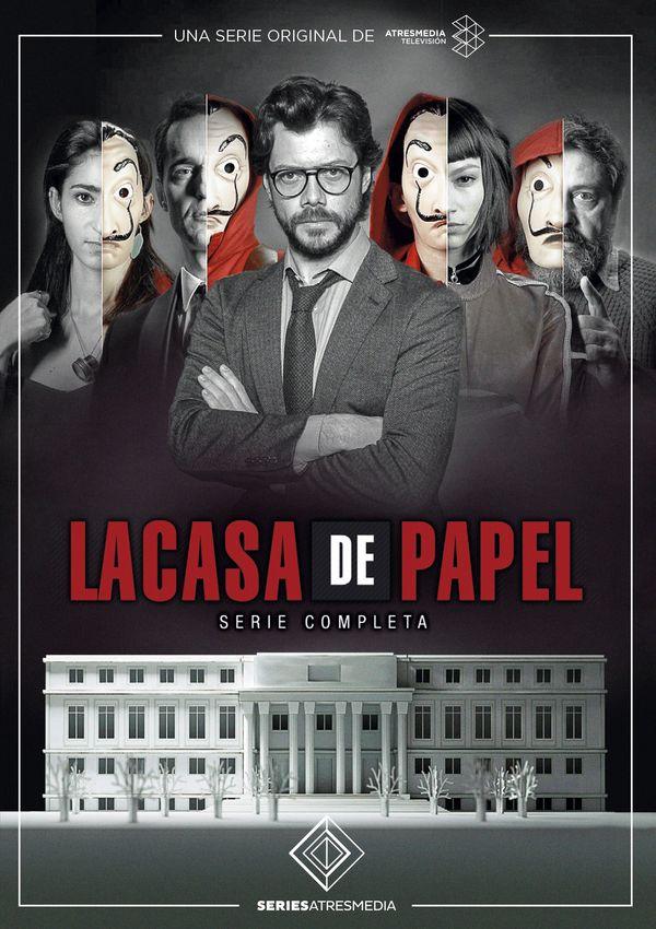 la casa de papel - dvd - serie completa-8421394549753