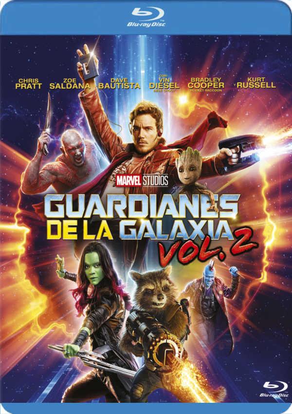 guardianes de la galaxia vol.2 - blu ray --8717418502928