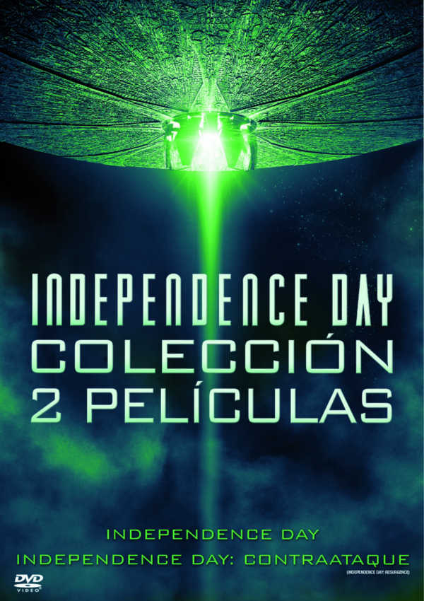 independence day 1+2 - dvd --8420266011503