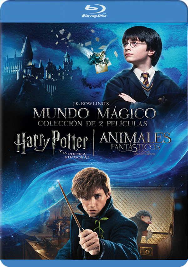 dúo harry potter 1 + animáles fantásticos - blu ray --8420266011879