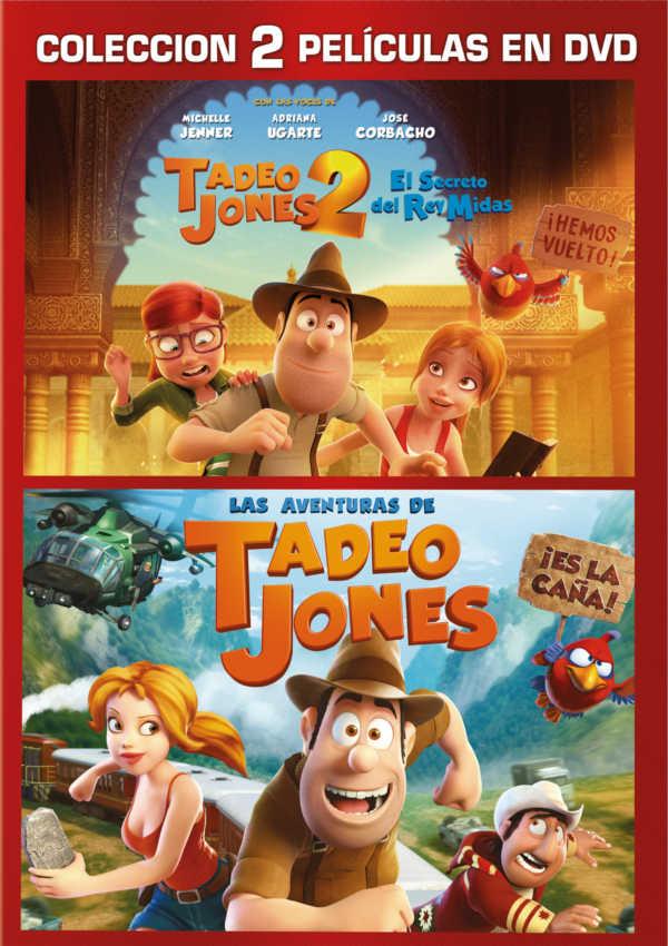 pack tadeo jones 1 + 2 - dvd --8414533110884