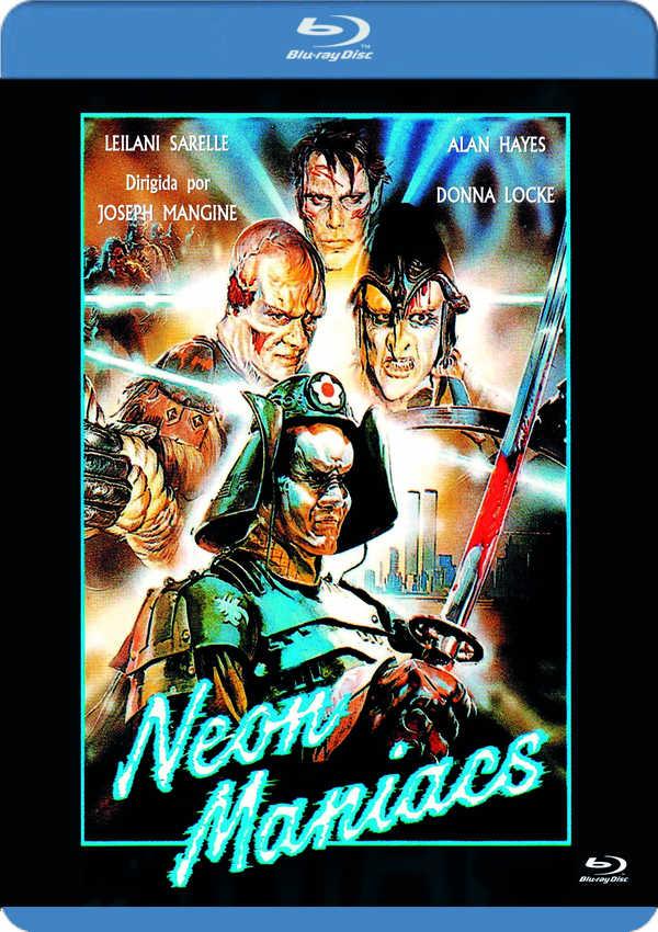 neon maniacs - blu ray --8435479600963
