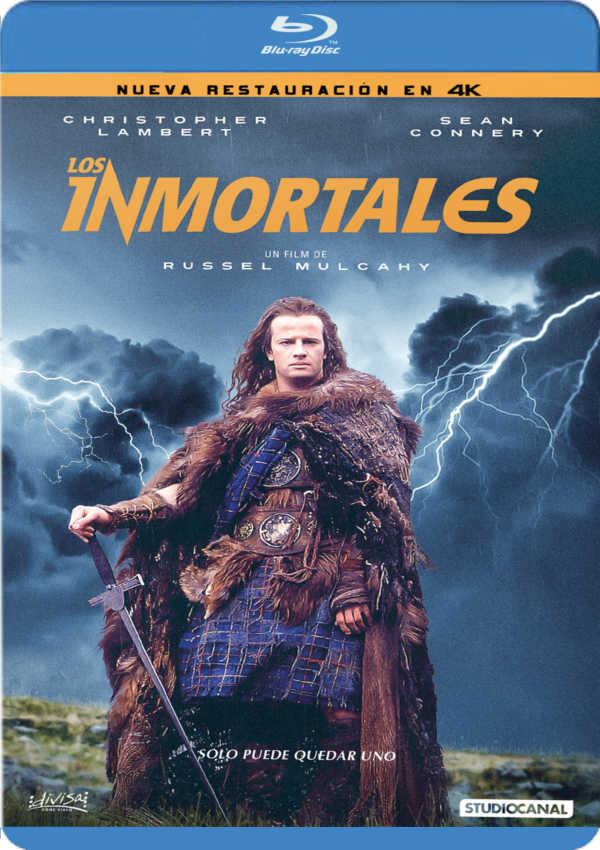 los inmortales - blu ray --8421394409972