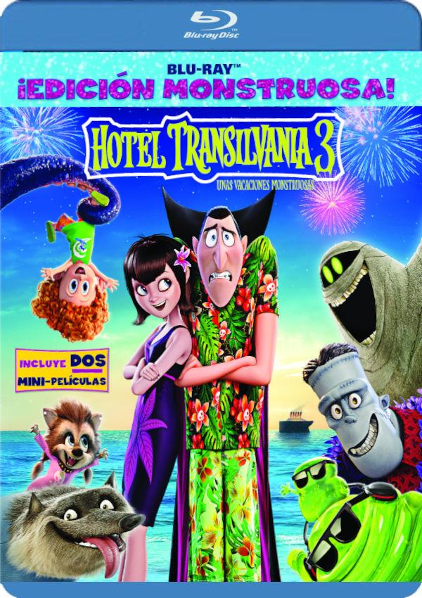 hotel transilvania 3: unas vacaciones monstruosas - blu ray --8414533117258