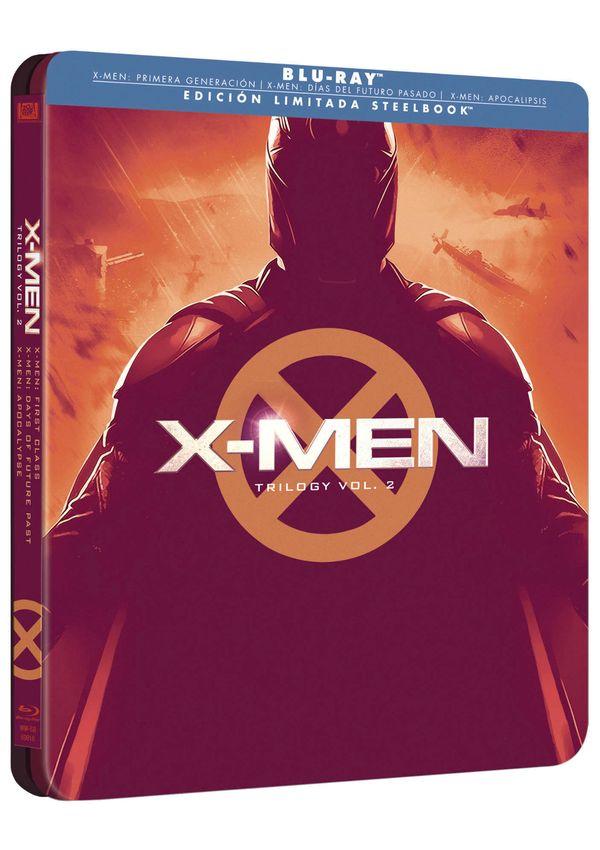 x-men trilogía precuela - blu ray - ed.steelbook-8420266017734