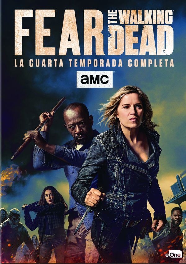 FEAR THE WALKING DEAD - DVD - TEMPORADA 4 de Dave Erickson ...