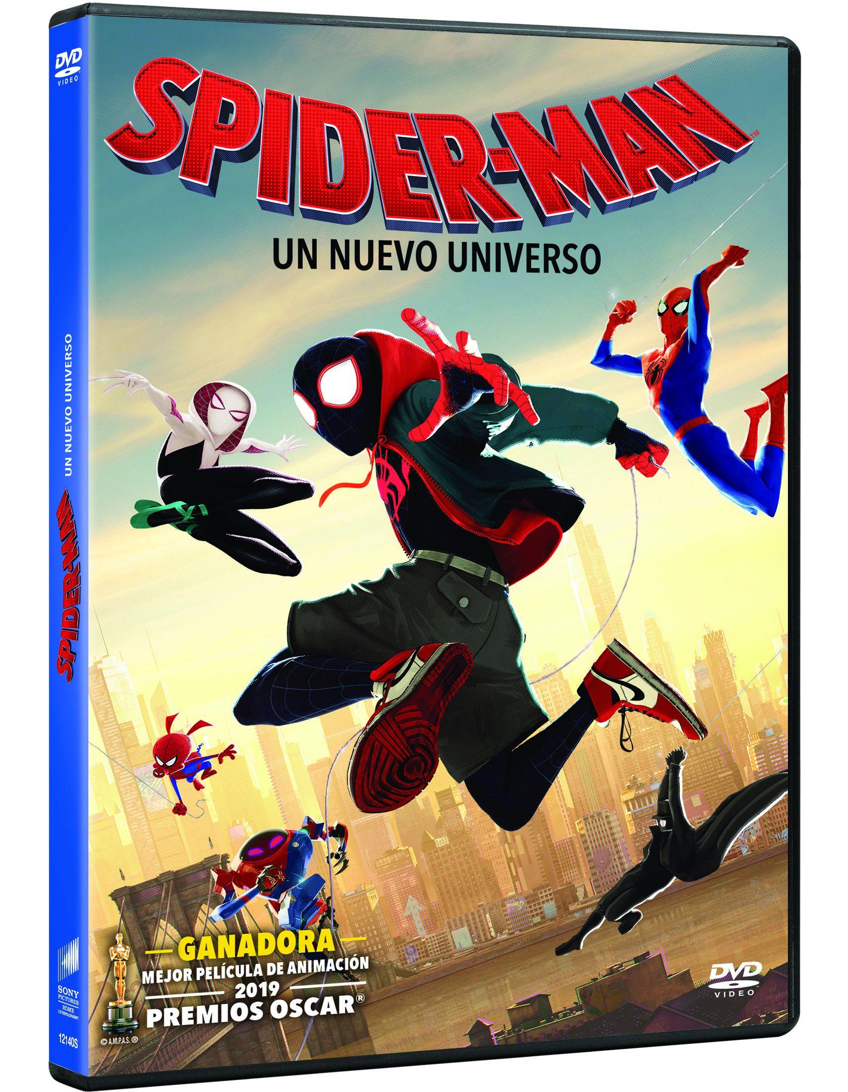 spider-man: un nuevo universo - dvd --8414533121408