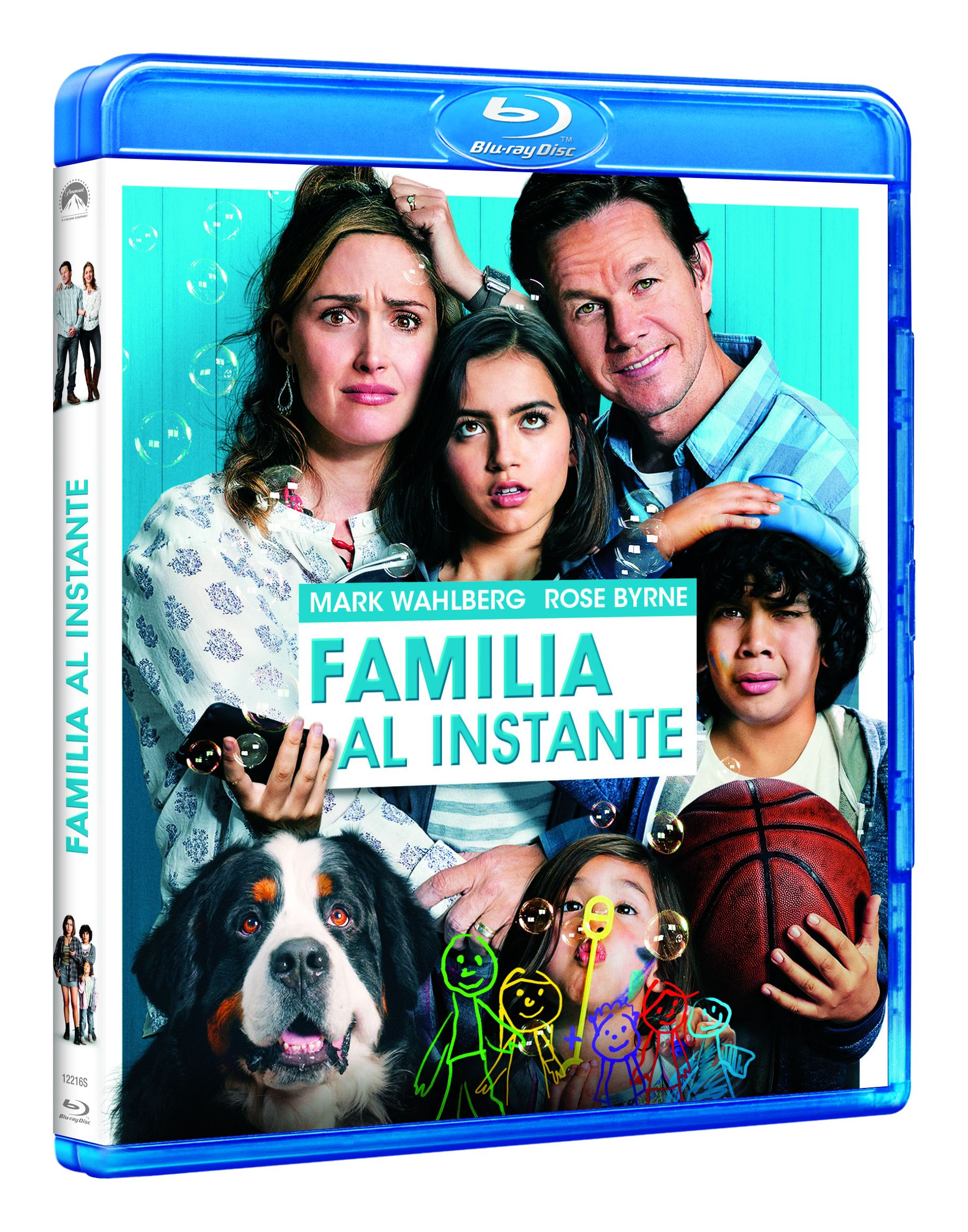 familia al instante - blu ray --8414533122160