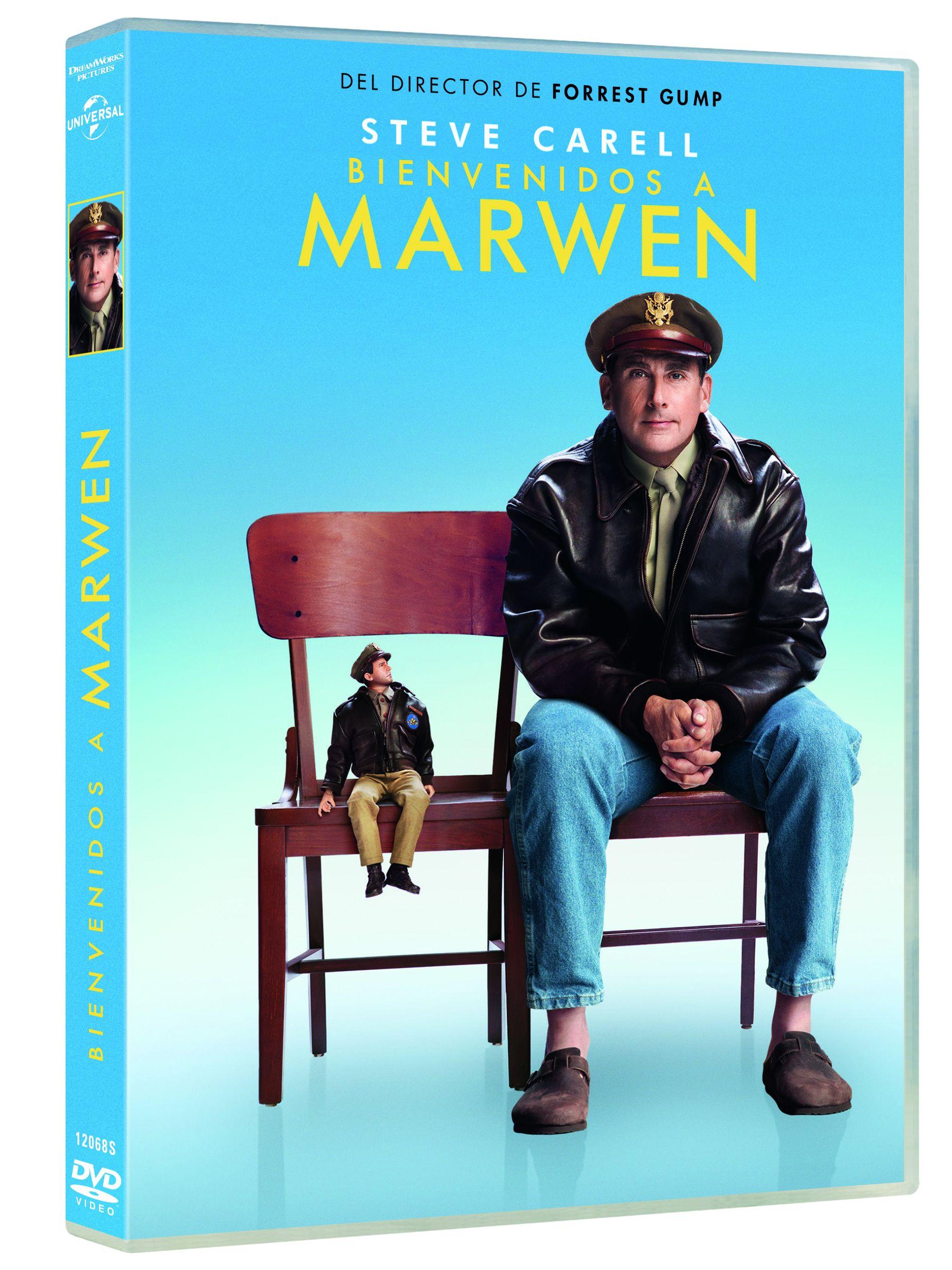 bienvenidos a marwen - dvd --8414533120685