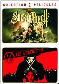 sucker punch + v de vendetta (dvd)-5051893186864